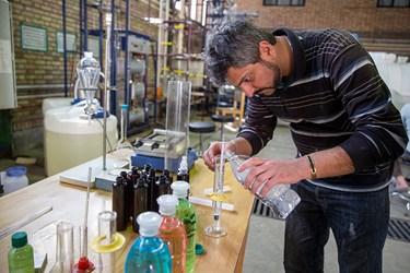 الکل 86 درصد تولید شده پس از ترکیب با آب، درصد آن توسط مهندس سید حسین احسانی برسی می شود.