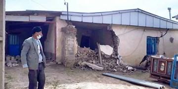 جزئیات خسارت طوفان و رانش زمین در مراوهتپه/ تدبیر مسوولان برای اسکان موقت روستائیان