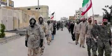 فیلم| عملیات ضد عفونی و گندزدایی بندر ماهشهر