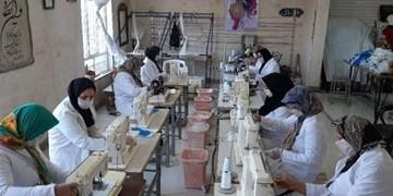 ۱۰ واحد تولید ماسک برای مقابله با کرونا در خراسانجنوبی راهاندازی شد