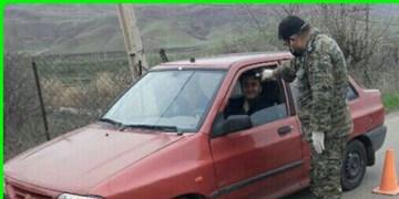 فیلم| بسیج خط مقدم مبارزه با کرونا در الموت