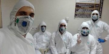 به دنبال خودداری شرکتها به دلیل ترس از ابتلا به کرونا در بیمارستان/ بسیج پای کار آمد+ عکس