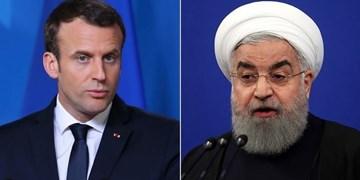 روحانی خطاب به مکرون: کشورهای دوست برای رفع تحریمها آمریکا را تحت فشار قرار دهند