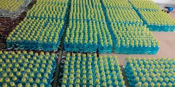 کمک 200 میلیون تومانی خیر اراکی برای خرید محلول ضدعفونی کننده