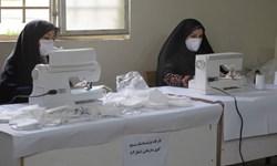 کارگاه تولیدی ماسک بهداشتی در لشگر ۸۴ خرمآباد افتتاح شد