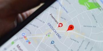 یافتن سریع خدمات تحویل غذا با نقشه های گوگل