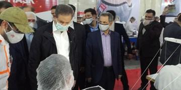 افتتاح یک کارخانه تولید ماسک توسط جهانگیری در رباط کریم