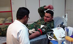 مشارکت بیش از1000 مامور یگان ویژه در طرح اهدای خون