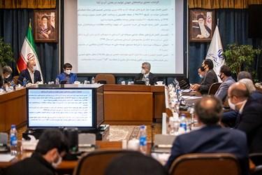 حضور رضا اردکانیان وزیر نیرو در نشست کارگروه «جهش تولید» در سازمان برنامه و بودجه کشور