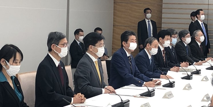 نخستوزیر ژاپن «وضعیت اضطرار ملی» اعلام کرد