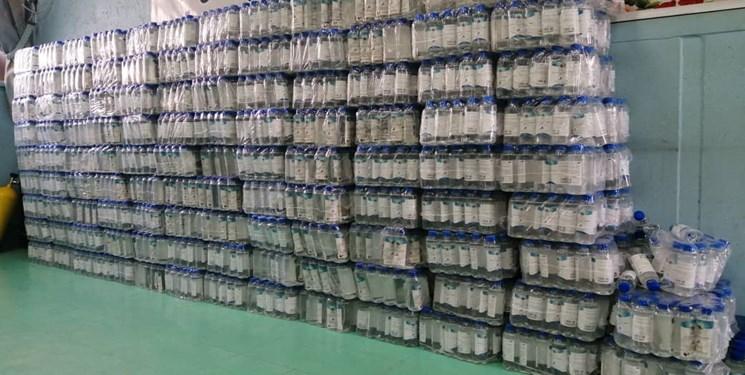 اهدای ۵ هزار بطری محلول ضدعفونی توسط سازمان اطلاعات سپاه