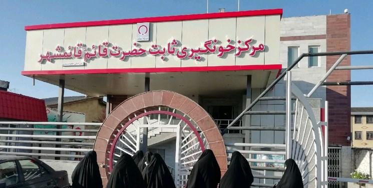 بسیج مردمی برای اهدای خون در مازندران