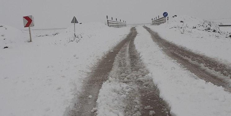 بارش برف بهاری در خراسان شمالی+فیلم و عکس