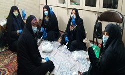 فعالیت 1000 بسیجی شهرستان کارون برای مقابله با کروناویروس