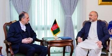 «بهادر امینیان» درباره بازگشت مهاجران افغان با «حنیف اتمر» گفتوگو کرد