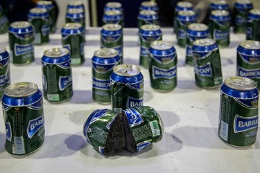 تریاک کشف شده توسط پلیس مبارزه با مواد مخدر پایتخت
