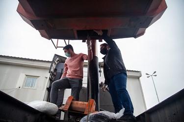 کشف مواد مخدر جاسازی شده در کامیون توسط پلیس مبارزه با مواد مخدر پایتخت