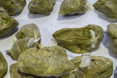 هروِئین کشف شده توسط پلیس مبارزه با مواد مخدر پایتخت
