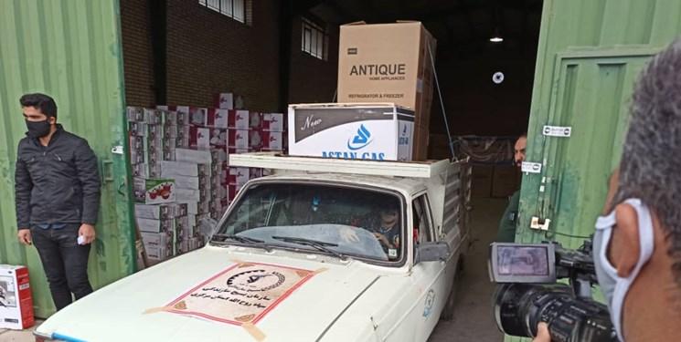 پنج سری جهیزیه به مدد جویان تحت پوشش کمیته امداد در گچساران اهدا شد