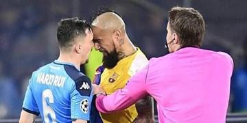 فیلم/ درگیریهای معروف فوتبال اروپا در فصل 2019-2020