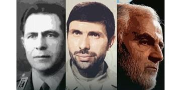 سرخط فارس| سه سپهد شهید