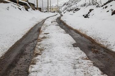ورودی روستای فشکور / مرزن آباد