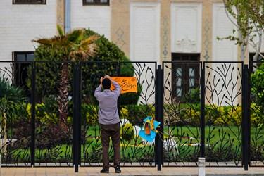 «هر خانه یک پرچم» به مناسبت نیمه شعبان