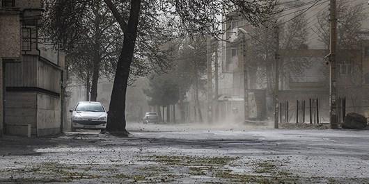 باد خیلی شدید با سرعت ۸۰ تا ۱۱۰ کیلومتر برساعت در ۱۵ استان/رگبار باران در روز طبیعت
