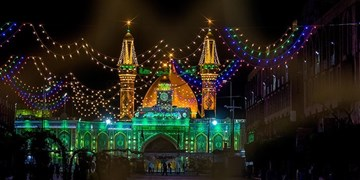 کربلا در شب نیمه شعبان/ افزایش زائران و زیارت نیابتی برای ایرانیان+عکس