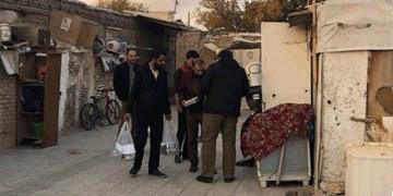 توزیع ۱۵۰ بسته غذایی در کورهپزخانههای تهران از سوی هیأتیها