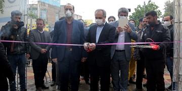 شبکه فاضلاب بیمارستان فرقانی به بهره برداری رسید