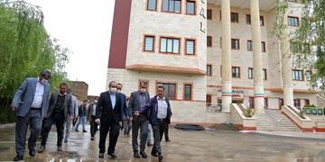 بهرهبرداری از شبکه فاضلاب بیمارستان فرقانی قم