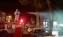 فیلم| نیمه شعبان متفاوت جوانان هلال احمر شهر انارستان