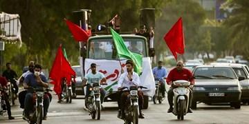 فیلم  کاروان شادی «آل یاسین» در محلات «قشم»