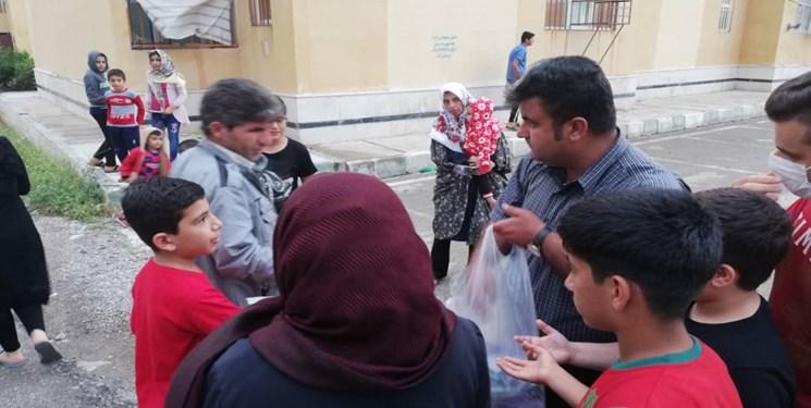 کارناوال شادی نیمه شعبان شهرداری و شورای شهر دوگنبدان با توزیع 12 هزار ماسک رایگان شهر دوگنبدان+ فیلم