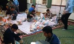 توزیع 150 بسته معیشتی میان کارگران روزمزد قزوین