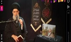 مراسم چهلم درگذشت حجت الاسلام احمد خسروی آنلاین برگزار شد