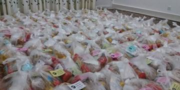 توزیع 500 بسته معیشتی میان نیازمندان توسط فعالان «پویش مهدوی» داراب