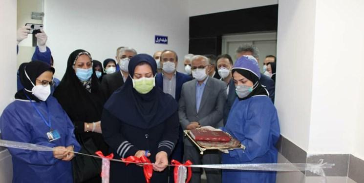 بزرگترین مرکز ICU دولتی شمال کشور در رشت به بهرهبرداری رسید+فیلم