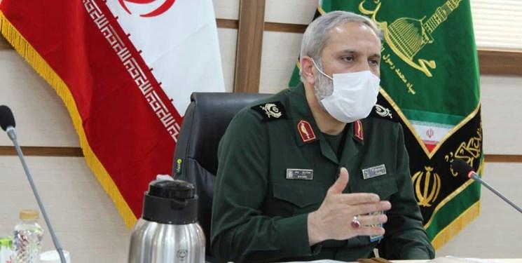 سردار یزدی: توان صادرات محصولات دانشبنیان بسیجیان وجود دارد/ ایجاد کلینیک رفع موانع تولید در سپاه تهران