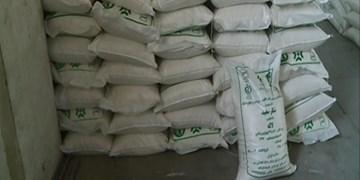 کشف محموله ۲۵ تنی شکر قاچاق در شهرستان درهشهر