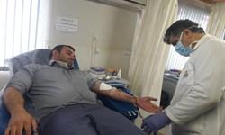 فیلم  اهدای خون توسط مردم آستارا در ایام کرونایی