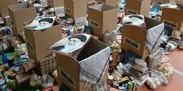توزیع ۱۰۰ بسته غذایی به ارزش ۲۸ میلیون تومان توسط یکی از خیرین نهاوندی