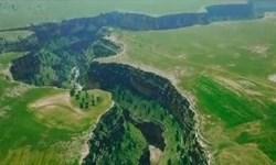 فیلم| طبیعت شگفت انگیز دره «تختچان»