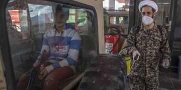 ضد عفونی پمپ بنزین های سنندج