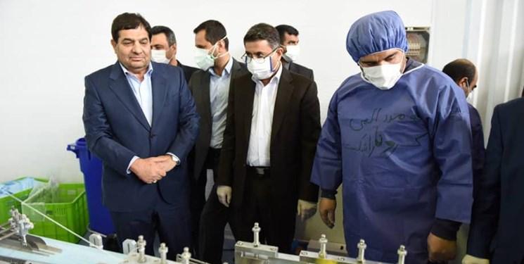 راهاندازی بزرگترین کارگاه تولید ماسک با ظرفیت تولید روزانه 4 میلیون/ ایران صادرکننده دستگاه تولید ماسک میشود