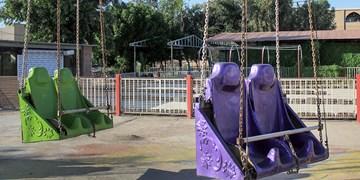 بازگشایی پارکهای زنجان، بدون وسایل بازی/ شهربازی همچنان تعطیل است
