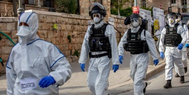 حمله صهیونیستها به کلینیک تشخیص کرونای فلسطینیها در قدس شرقی