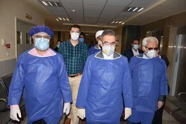 افتتاح سی.تی.اسکن بیمارستان جلیل