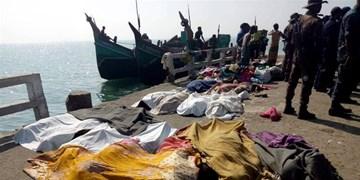 24 نفر از مسلمانان «روهینگیا» در مسیرمالزی جان باختند